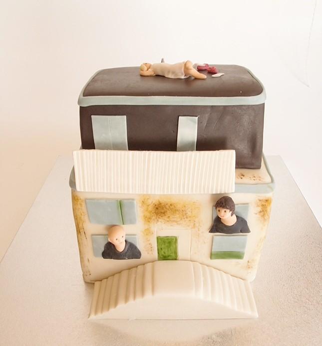 Bunker-Torte. Foto: Anett Noster White Rabbit