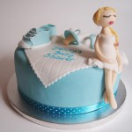Torte Baby-Shower. Foto: Anett Noster White Rabbit