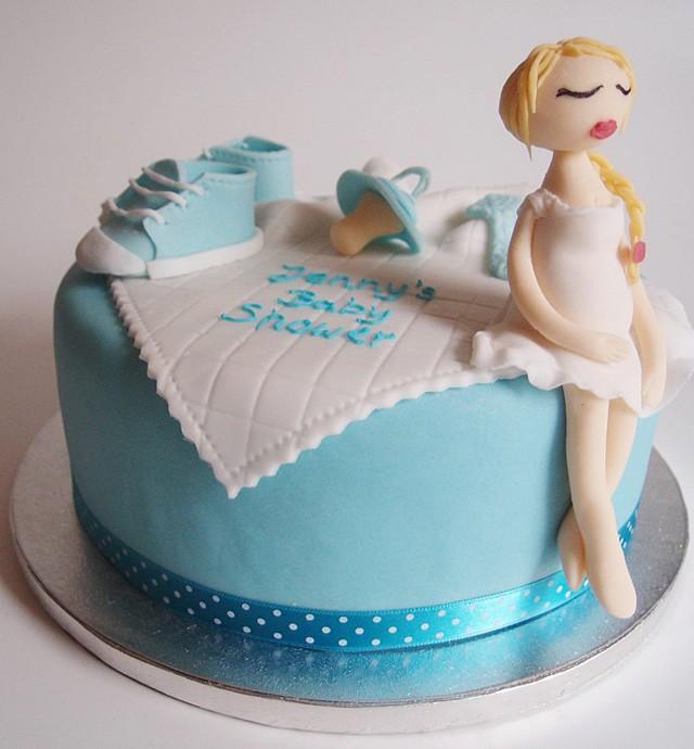 Torte Baby-Shower. Foto: Anett Noster White Rabbit