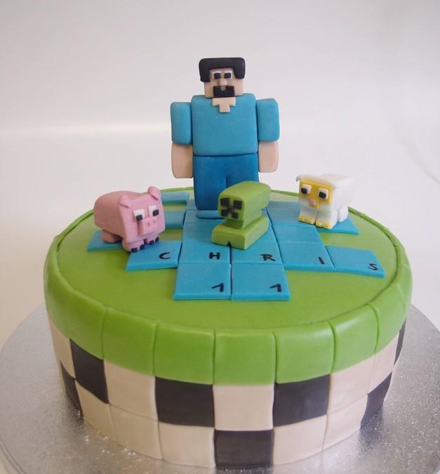 Torte Computerspiel 2. Foto: Anett Noster White Rabbit