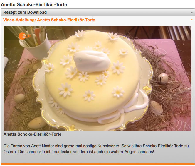 Screenshot des Beitrags in der ZDF-Sendung Drehscheibe.